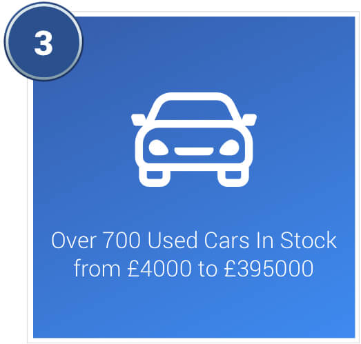 Over 700 used cars in stock