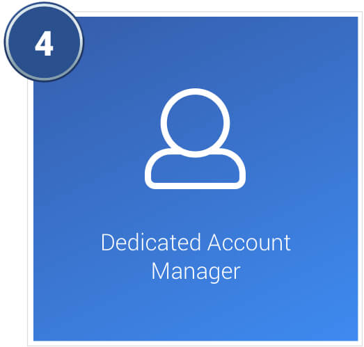 Dedicated account manager